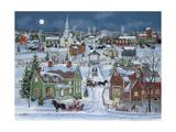 Christmas Homecoming Lámina giclée por Bob Fair