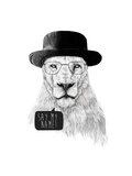 Say My Name Giclee Print by Balazs Solti