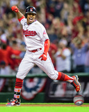 Francisco Lindor Home Run Game 1 of the 2016 American League Division Series Photo