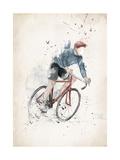I Want to Ride My Bicycle Giclée-Druck von Balazs Solti