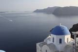 Santorini Fotografisk tryk af Chris Bliss