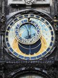 Prague Clock 1 Fotografisk tryk af Chris Bliss