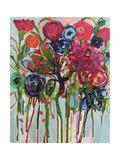 Flower Demo Giclee Print by Carrie Schmitt