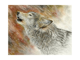 Winter's First Call Giclee Print by Chuck Black
