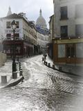 Montmartre 1 Fotografisk tryk af Chris Bliss