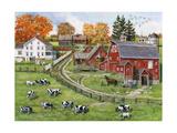 Our Dairy Farm Giclée-Druck von Bob Fair