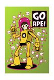 Go Ape Giclee Print by Craig Snodgrass