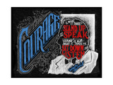 Courage Giclee Print by CJ Hughes