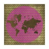 World Chevron Giclee-trykk av Erin Clark