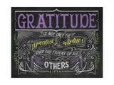 Greatest of Virtues Giclée-Druck von CJ Hughes