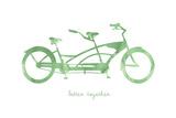 Bike 3 Giclée-Druck von Erin Clark