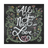 All You Needis Love Lámina giclée por Elizabeth Caldwell