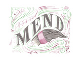 Mend Giclee Print by CJ Hughes