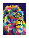 Lion New Giclée-tryk af Bob Weer