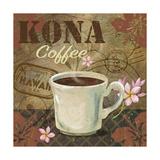 Kona Coffee Giclee Print by Fiona Stokes-Gilbert