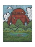 Valley-Invader Giclee Print by Craig Snodgrass