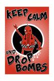 Drop Bombs Giclee Print by Craig Snodgrass