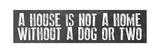 Dog Home Giclée-Druck von Erin Clark