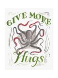 Give More Hugs Giclée-Druck von CJ Hughes