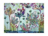 Flowers Giclee Print by Carrie Schmitt