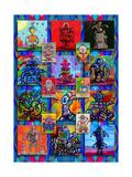 Pop Art Robots Giclee Print by Howie Green