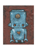 Wee-Bot-Blue Giclee Print by Craig Snodgrass