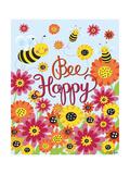 Biene, freu dich Giclée-Druck von Elizabeth Caldwell