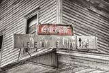 General Store Sign BW Fotografisk trykk av Bob Rouse