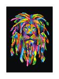 Lion Rasta Reproduction procédé giclée par Bob Weer