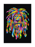 Lion Rasta Giclee Print by Bob Weer