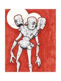 3 Bros Bots Giclee Print by Craig Snodgrass