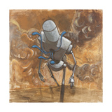 The Trooper Giclee Print by Craig Snodgrass