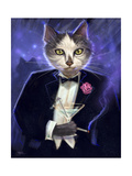 Cool Cat Giclee Print by Jeff Haynie