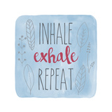 Inhale Giclée-tryk af Erin Clark