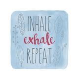 Inhale Giclée-Druck von Erin Clark