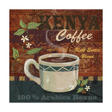 Kenya Coffee Giclee Print by Fiona Stokes-Gilbert