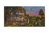 Playtime on the Farm Giclee Print by Geno Peoples