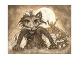 Zombie Cats 3 Giclee Print by Jeff Haynie