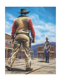 Duel of the Century Giclee Print by Geno Peoples