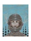 Sally-Saturn Giclee Print by Craig Snodgrass