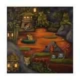 Frogland 2. Giclee Print by Leah Saulnier