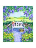 Garden Seat Giclee Print by Geraldine Aikman