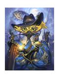 Cavalier Cat Giclee Print by Jeff Haynie