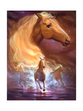 Fantasy Horse Dreams Giclee Print by Jeff Haynie