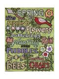 Spring 1 Gicléedruk van Karla Gerard