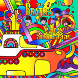 Yellow Submarine Giclee-trykk av Howie Green