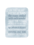 Boy Night Born Impressão giclée por Erin Clark