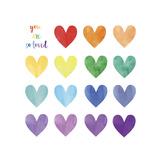 WC Hearts Giclée-Druck von Erin Clark