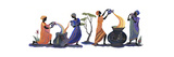 Women Pouring Giclee-trykk av Judy Mastrangelo
