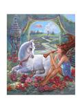 Flute Fairy Giclee Print by Judy Mastrangelo